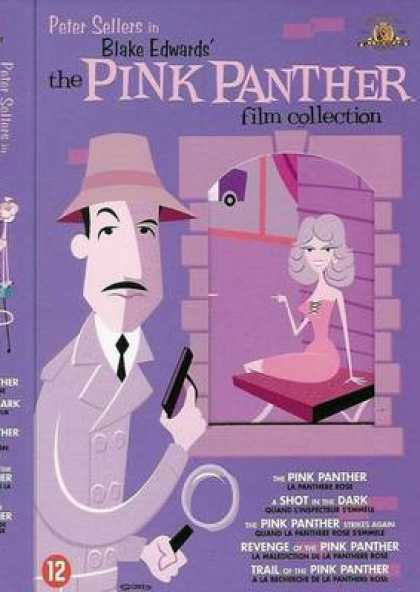 French DVDs - The Pink Panther Collection