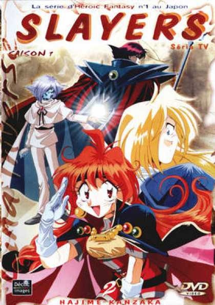 French DVDs - Slayers Season 1 Vol 2