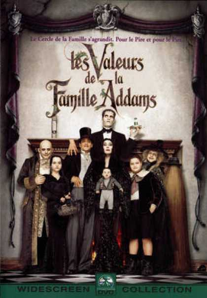 French DVDs - Addams Family