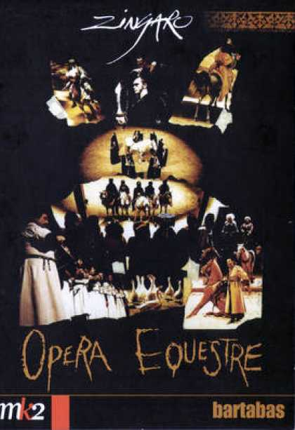 French DVDs - Zingaro - Opera Equestre
