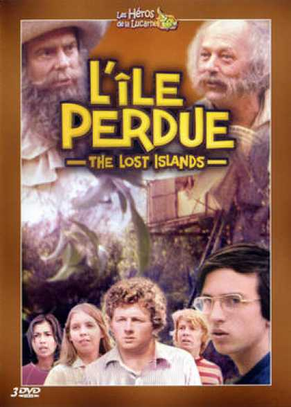 French DVDs - The Lost Islands