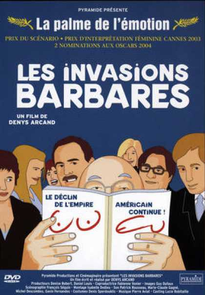 French DVDs - Les Invasions Barbares