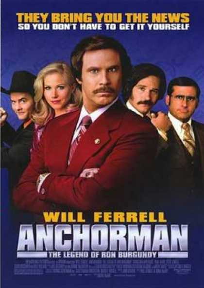 French DVDs - Anchorman