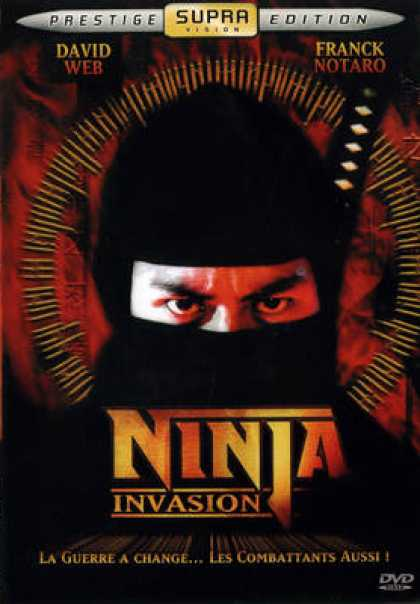 French DVDs - Ninja Invasion