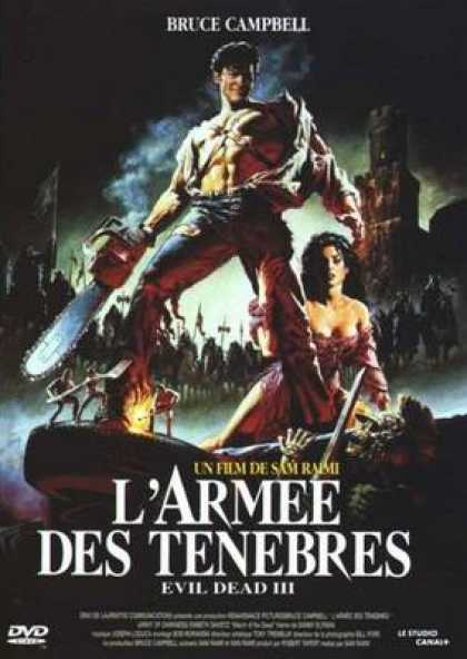 French DVDs - Army Of Darkness
