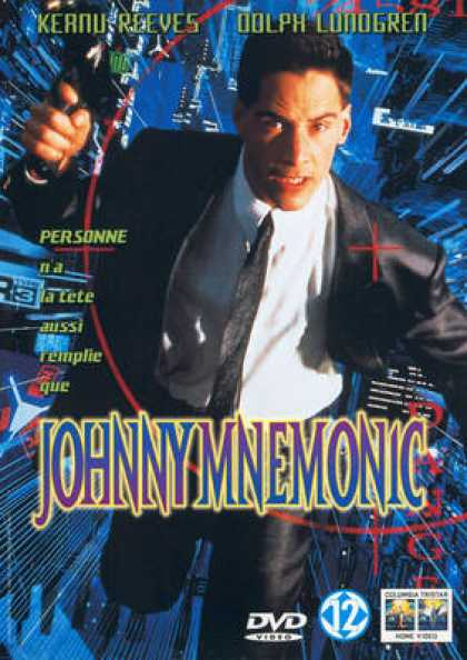 French DVDs - Johnny Mnemonic