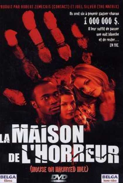 French DVDs - House On Haunted Hill