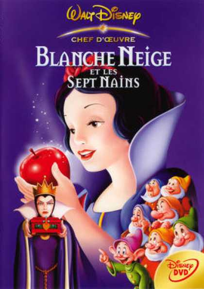 French DVDs - Blanche Neige Et Les Sept Nains