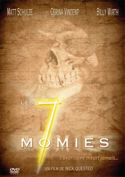 French DVDs - 7 Mummies
