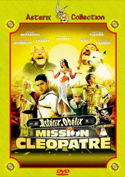 French DVDs - Asterix And Obelix - Mission Cleopatre