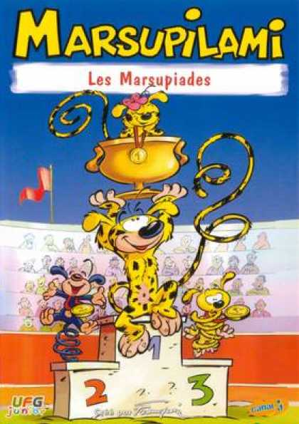 French DVDs - Marsupilami - Les Marsupiades