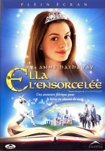 French DVDs - Ella L'ensorcelée