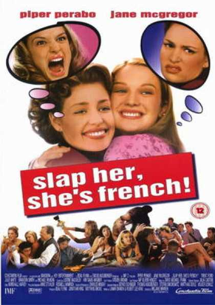 French DVDs - Slap Her She's French CUSTOM R2 ENGLISH