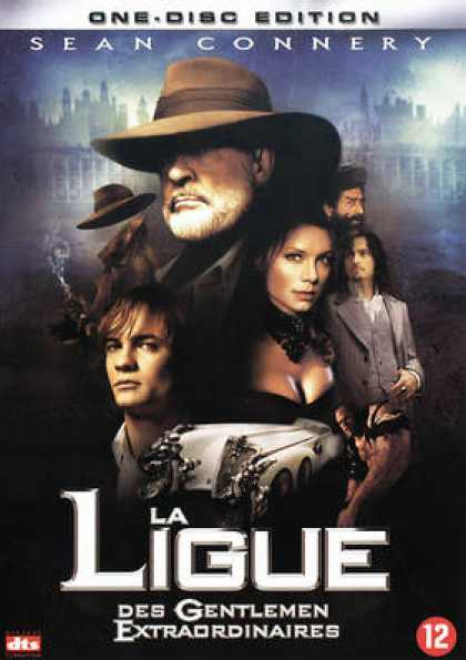 French DVDs - The League Of Extraordinary Gentlemen