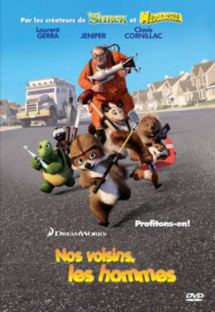 French DVDs - Over The Hedge
