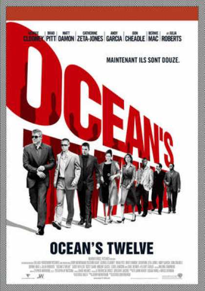 French DVDs - Ocean Twelve
