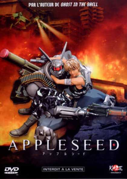 French DVDs - Appleseed