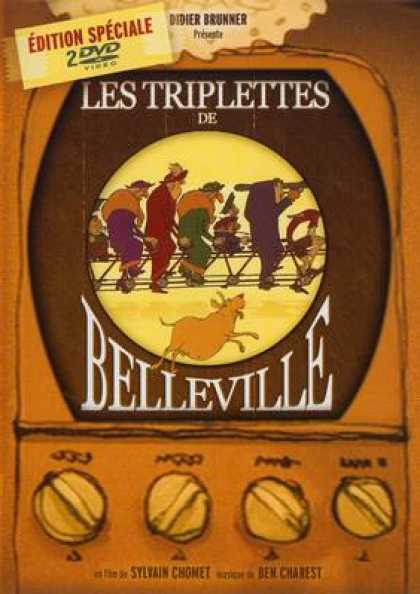 French DVDs - Triplettes De Belleville