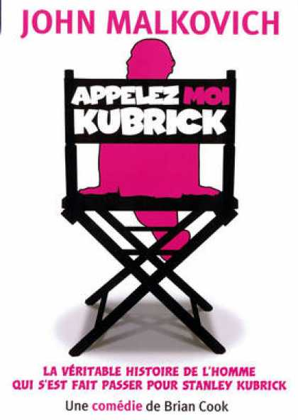 French DVDs - Appelez Moi Kubrick
