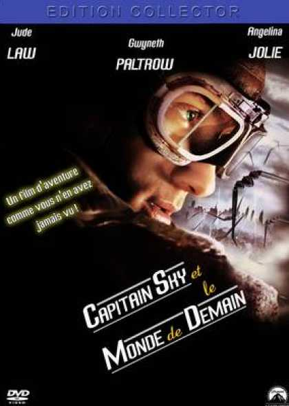 French DVDs - Capitaine Sky Et Le Monde De Demain