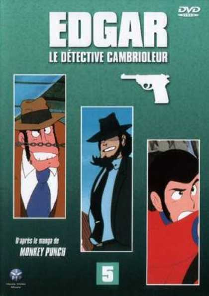 French DVDs - Edgar The Detective Vol 5