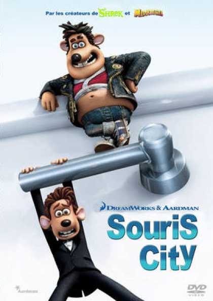 French DVDs - Flushed Away