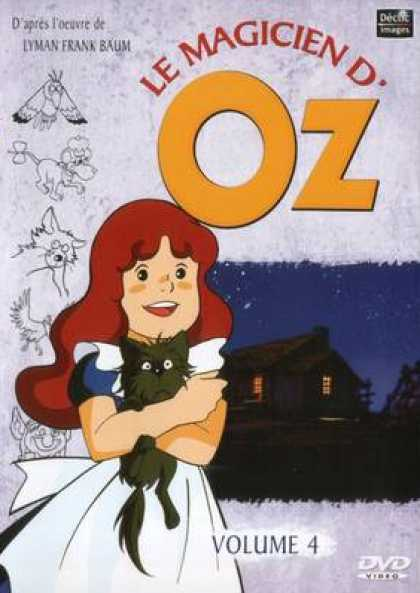 French DVDs - The Wizard Of Oz Cartoon Volume 4
