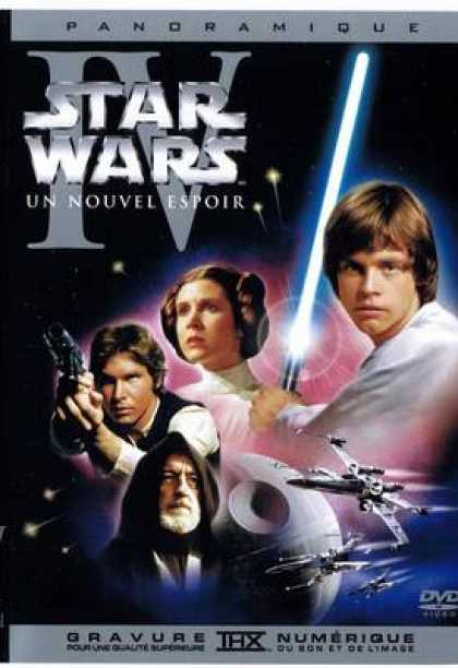 French DVDs - Star War A New Hope French New Dvd