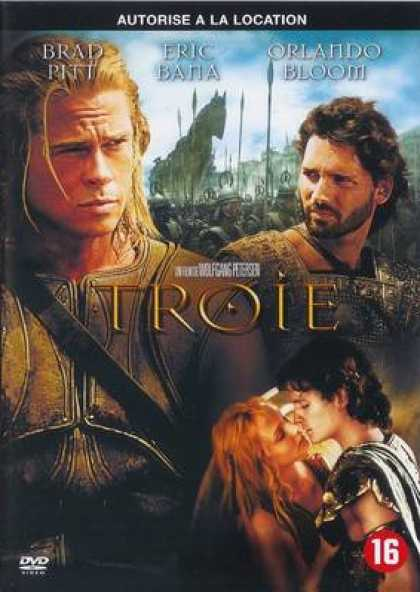 French DVDs - Troy
