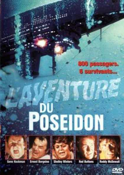French DVDs - The Poseidon Adventure