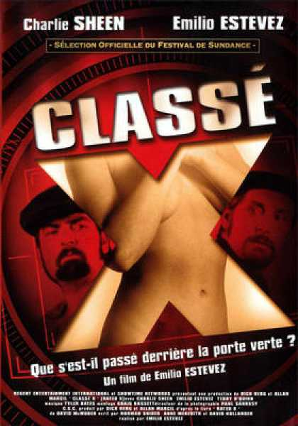 French DVDs - Classe X