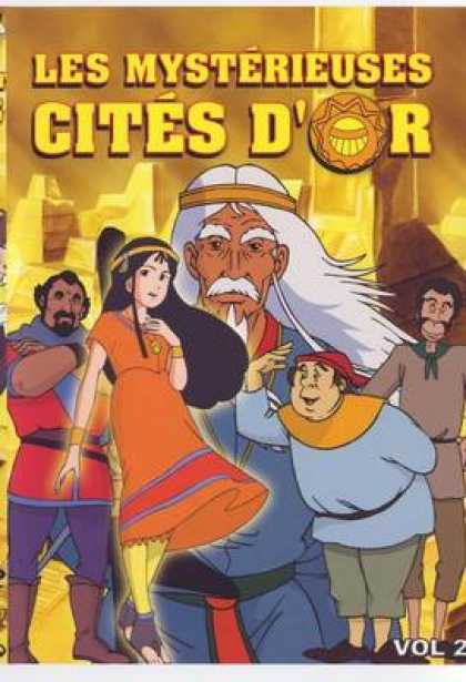 French DVDs - The Mysterious Cities Of Gold Volume 2