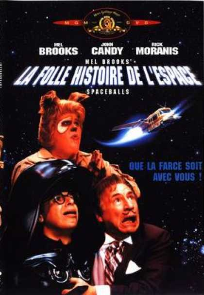 French DVDs - Spaceballs