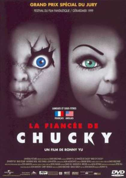 French DVDs - Bride Of Chucky
