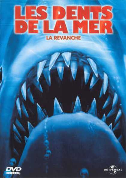 French DVDs - Jaws 4