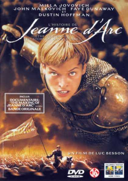French DVDs - Jeanne D Arc