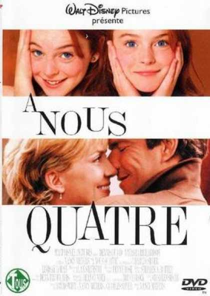 French DVDs - The Parent Trap