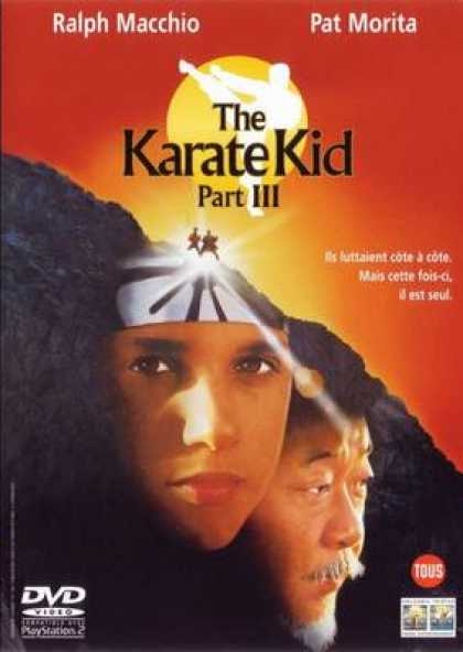 French DVDs - Karate Kid 3