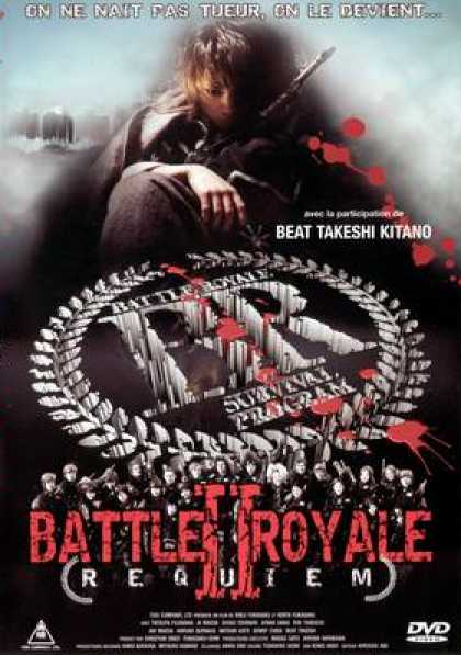 French DVDs - Battle Royale 2