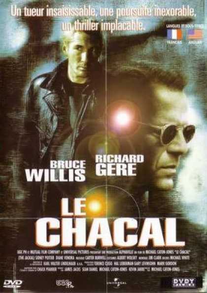 French DVDs - The Day Of The Jackal