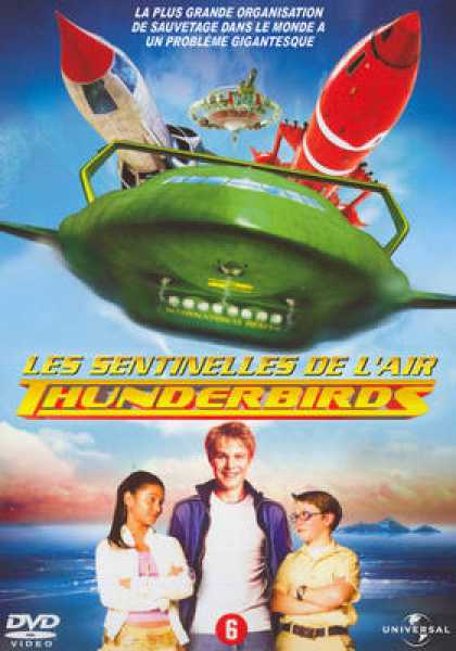 French DVDs - Thunderbirds