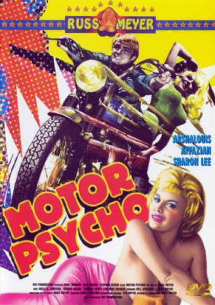 French DVDs - Motor Psycho
