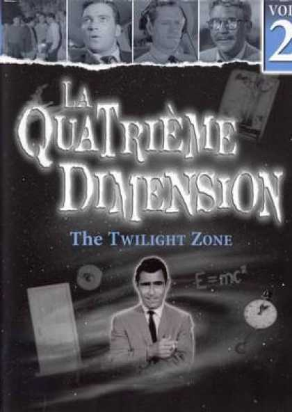 French DVDs - The Twilight Zone Vol 2