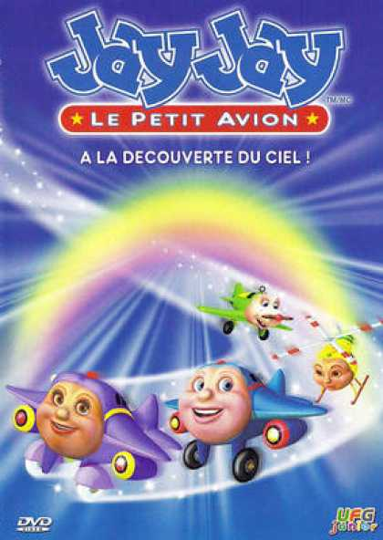 French DVDs - Jay Jay A La Decouverte Du Ciel