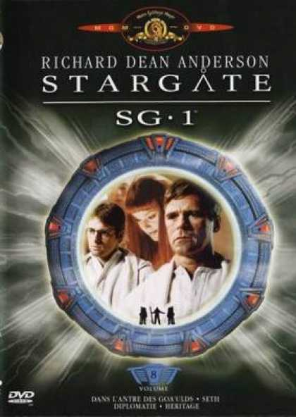 French DVDs - Stargate Sg 1 Vol 8