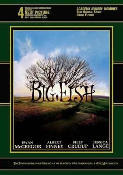 French DVDs - Big Fish