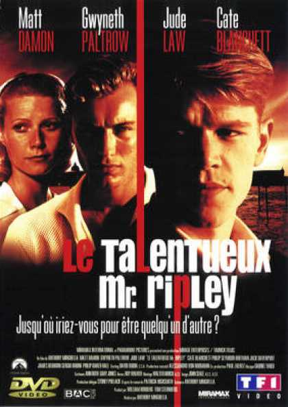 French DVDs - The Talented Mr. Ripley