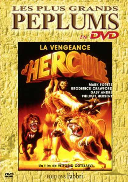 French DVDs - La Vengeance D Hercule