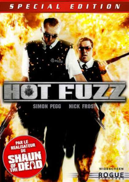 French DVDs - Hot Fuzz