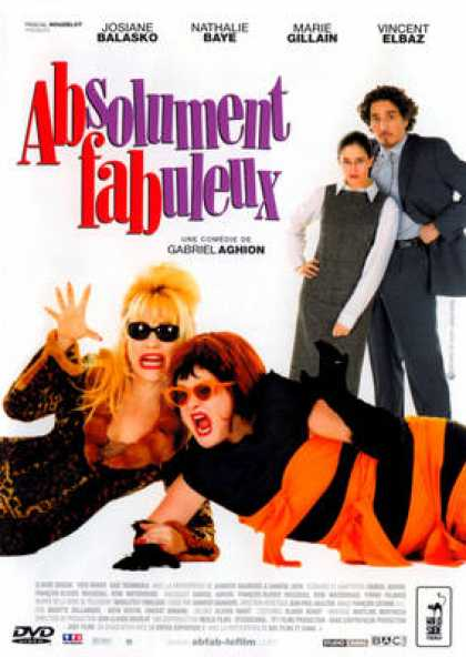 French DVDs - Absolument Fabuleux